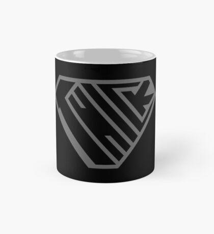 Thick SuperEmpowered (Black on Black) Mug