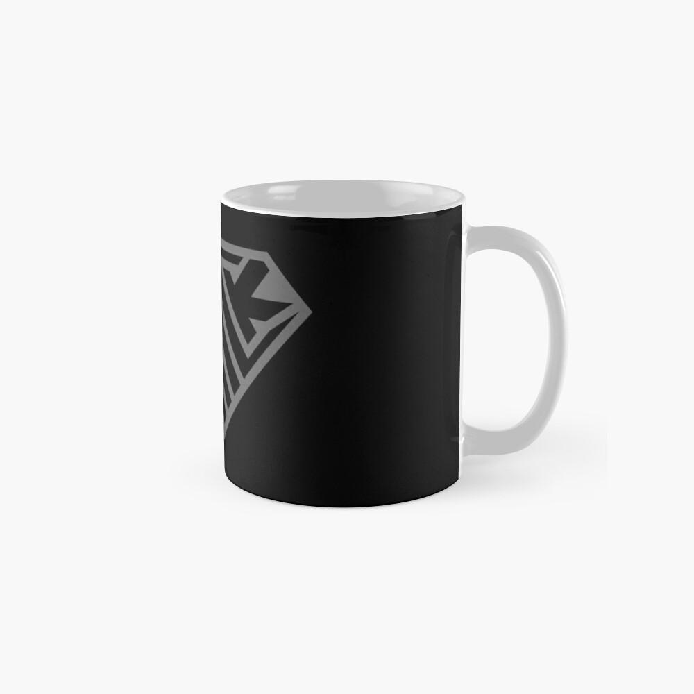 Thick SuperEmpowered (Black on Black) Mugs