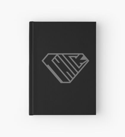 Thick SuperEmpowered (Black on Black) Hardcover Journal