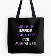 Bolsa de tela Camisa de Lupus Awareness b594b8cb2743b