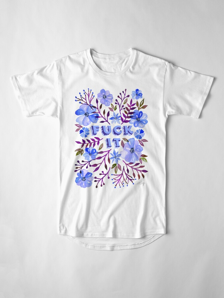 Alternate view of F*ck It – Blueberry Palette Long T-Shirt