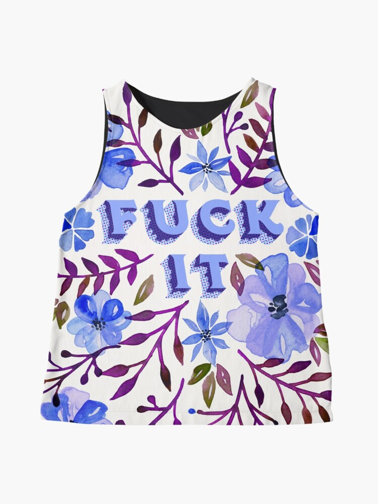 Alternate view of F*ck It – Blueberry Palette Sleeveless Top