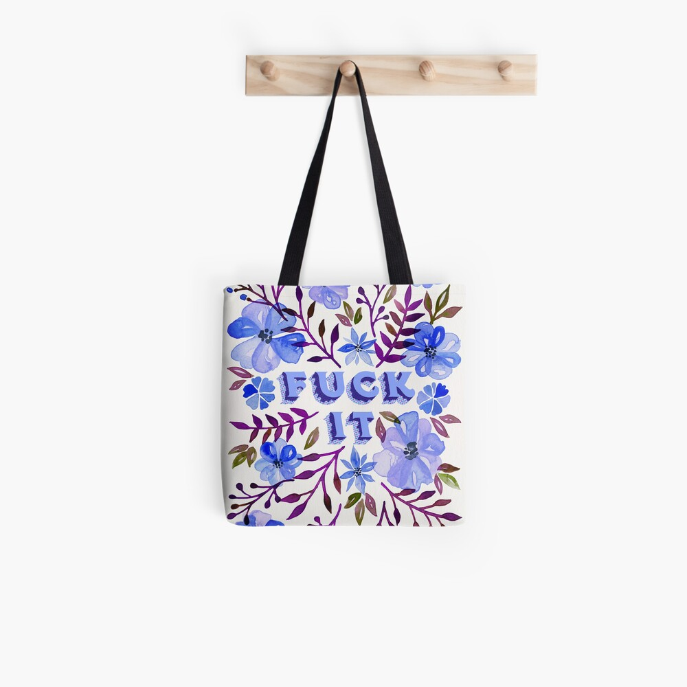 F*ck It – Blueberry Palette Tote Bag