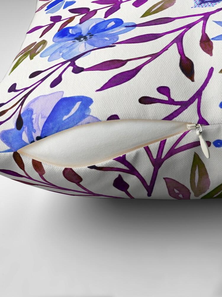 Alternate view of F*ck It – Blueberry Palette Floor Pillow