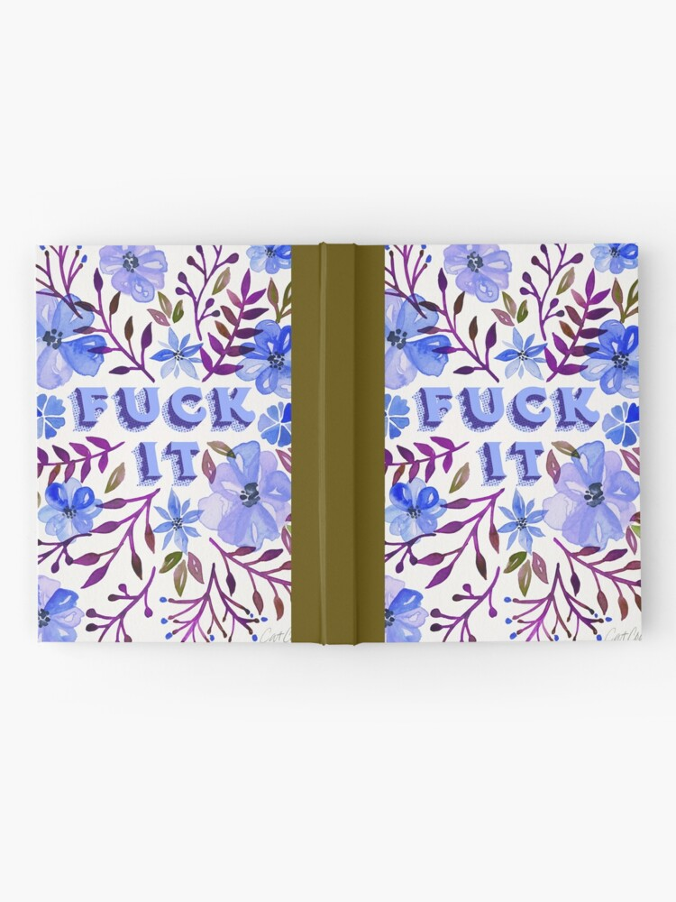 Alternate view of F*ck It – Blueberry Palette Hardcover Journal