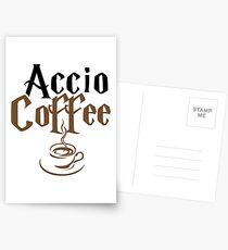 accio coffee t-shirts Postcards