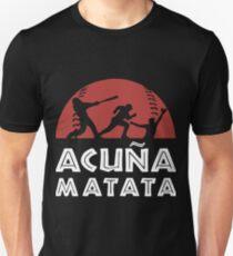 acuna matata baseball t-shirts Unisex T-Shirt