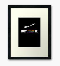 Jump The Broom - Pride Framed Print