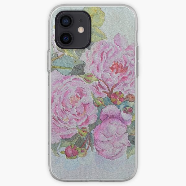 Sweet roses iPhone Soft Case