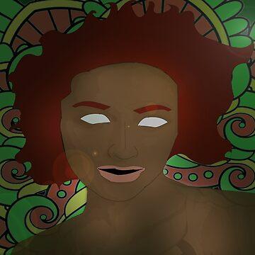 mandala reggae girl by Chavs88