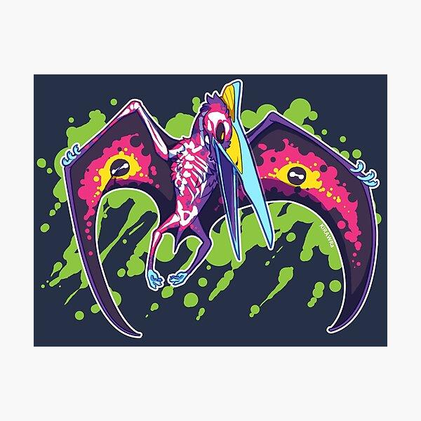 Radioactive Quetzalcoatlus Photographic Print