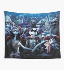 The Nightmare Before Christmas Wall Tapestry