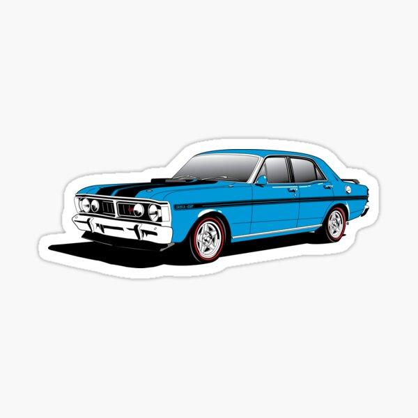 Falcon XY GT HO Blue Sticker