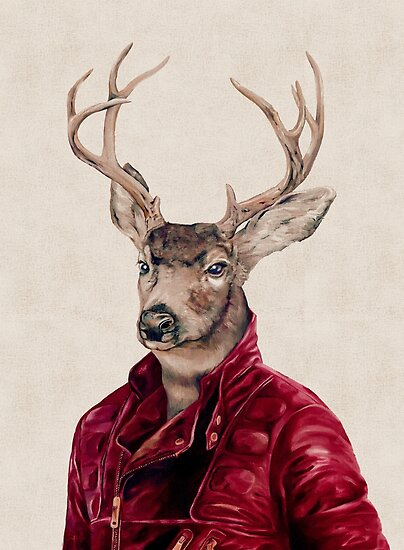 Deer In Leather by AnimalCrew