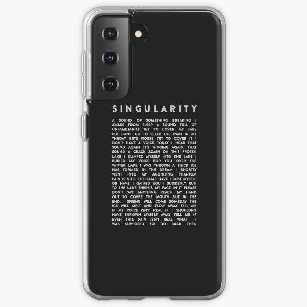 BTS SINGULARITÉ LYRIQUE Coque souple Samsung Galaxy