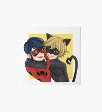 Ladybug and Cat Noir Art Board