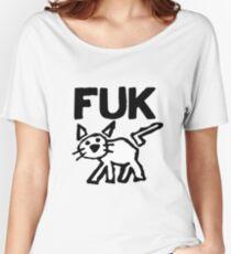 Fuk Women's Relaxed Fit T-Shirt