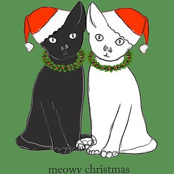 Meowy Christmas by SuperMerch