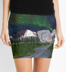 Sleeping Lady Mini Skirt