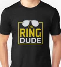 Ring Dude | ring bearer shirt | ring bearer gifts | ring bearer gifts for boys | ring bearer kids | wedding gift idea | wedding gift for son | wedding gift boy | ring bearer kids Unisex T-Shirt