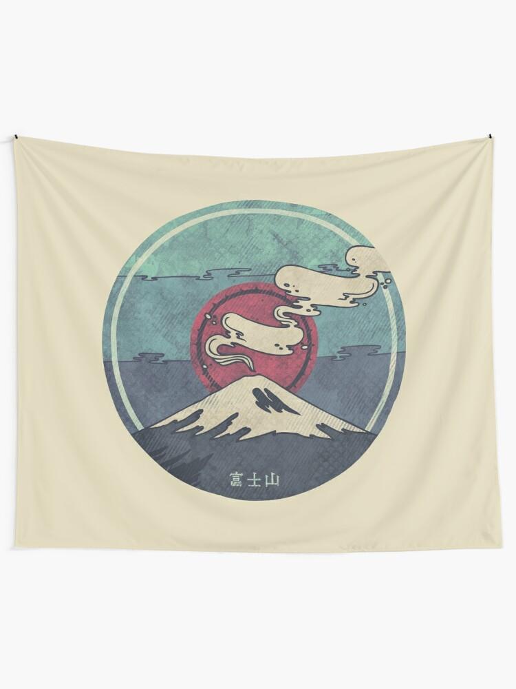 Alternate view of Fuji Tapestry