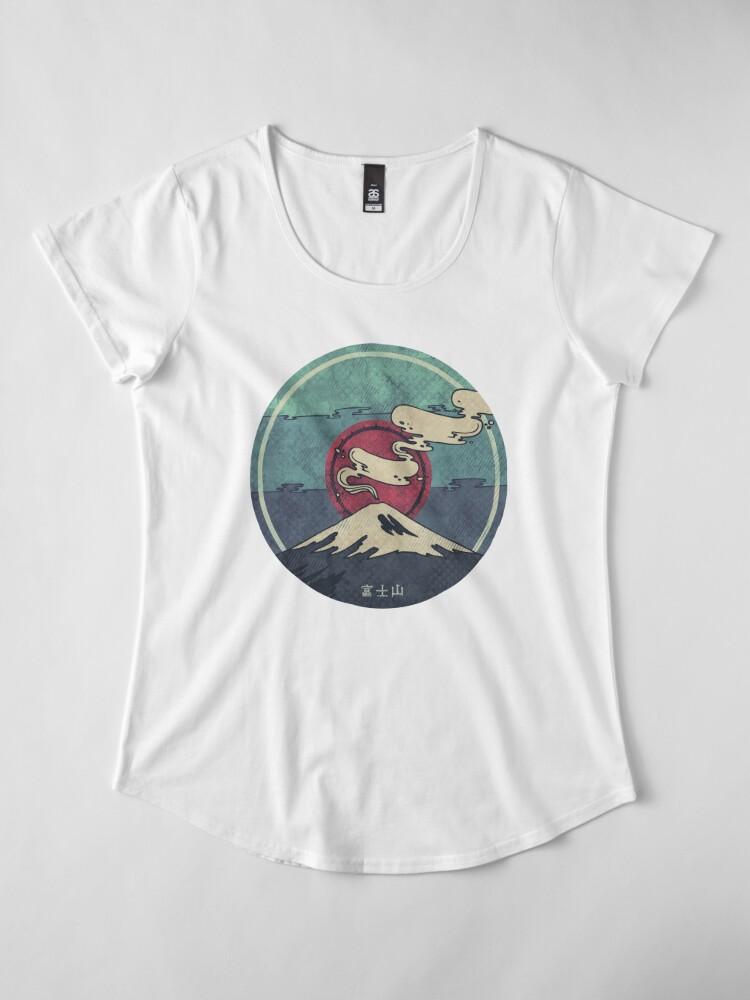 Alternate view of Fuji Premium Scoop T-Shirt