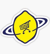 Lemon - Midnight Is Where the Day Begins Sticker