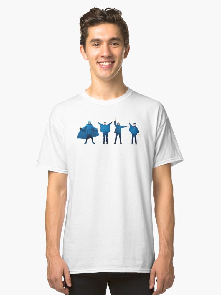 Help (No font) Classic T-Shirt Front