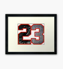 23 to the Hole Framed Print