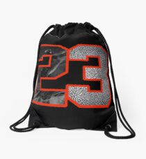 23 to the Hole Drawstring Bag