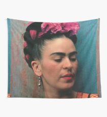 FRIDA KAHLO COLORIZED Wall Tapestry