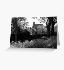 Manobier Castle - Wales Greeting Card