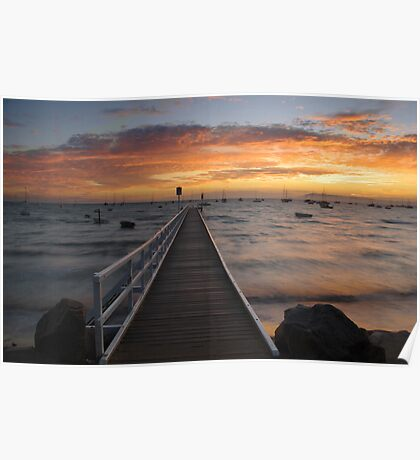 Camerons Bight Jetty Poster
