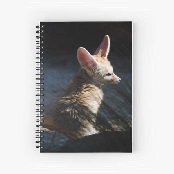 Fennec Fox Spiral Notebook