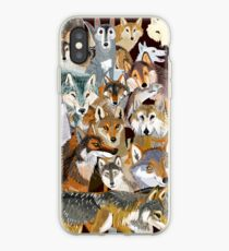 Wolves o´clock (Time to Wolf) Vinilo y funda para iPhone