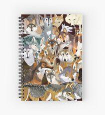Wolves o´clock (Time to Wolf) Cuaderno de espiral