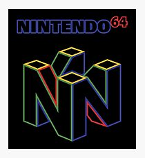 Nintendo 64 Photographic Print