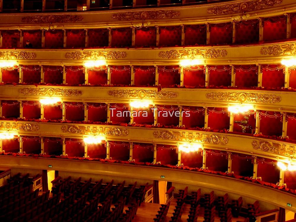 La Scala, Milan, Italy by Tamara Travers