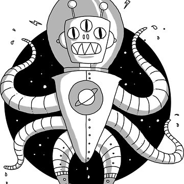 Alien Spaceman by TheMaker