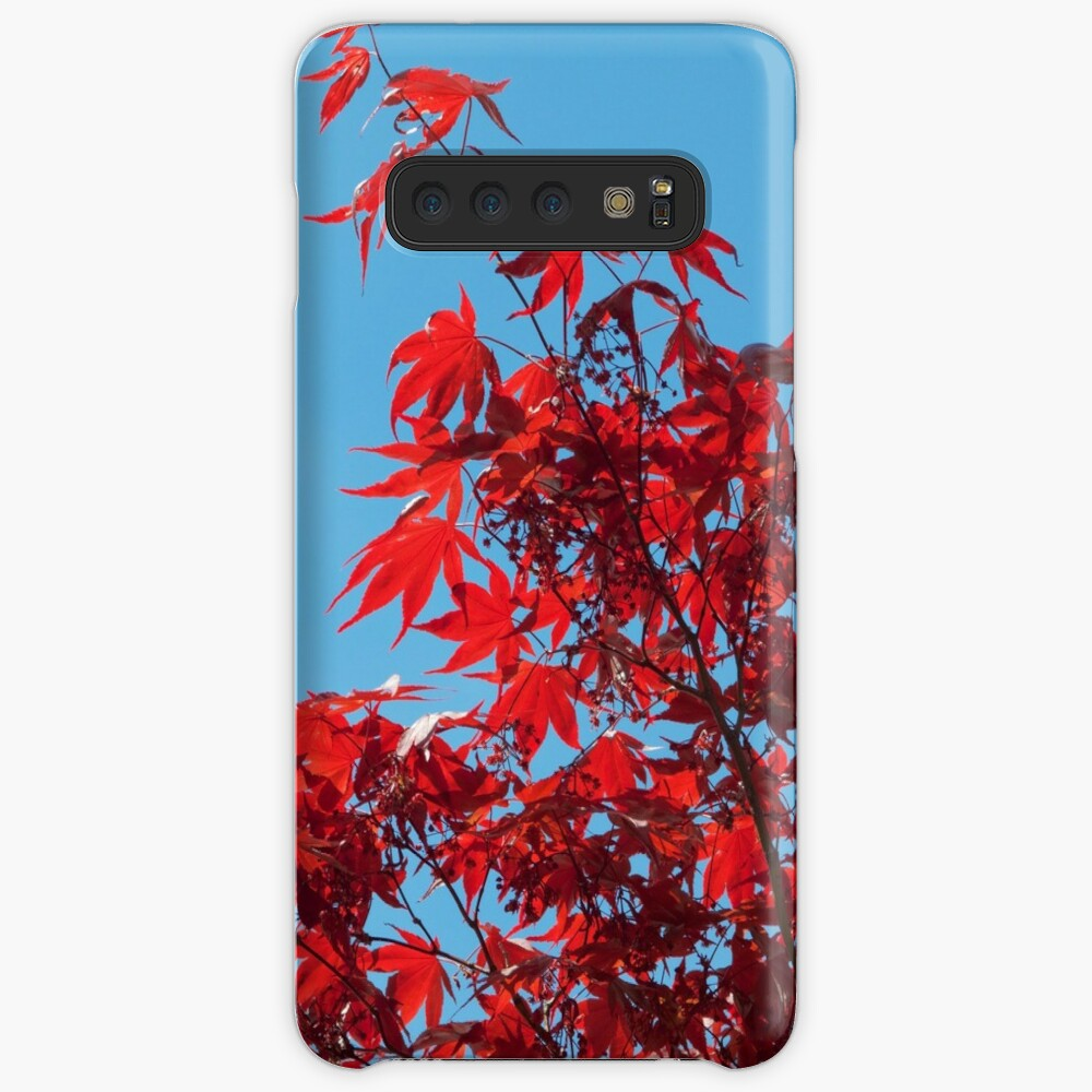 Japanese Maple (Acer) Leaves Case & Skin for Samsung Galaxy