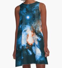 Out of Time and Space A-Line Dress