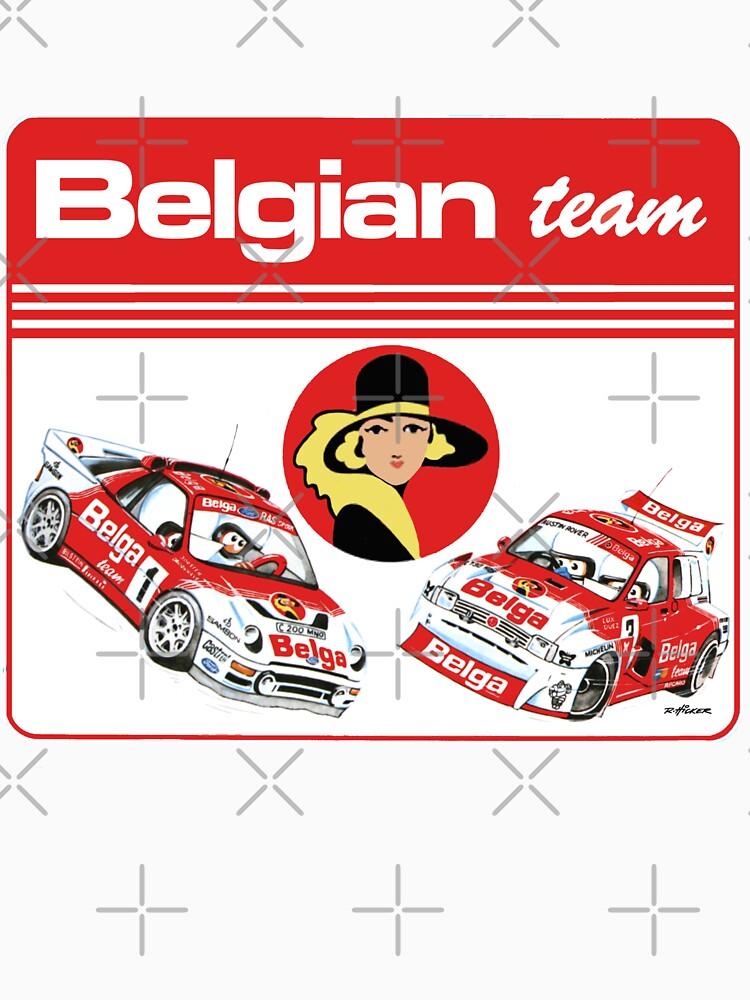 Belgian team 86 by purpletwinturbo