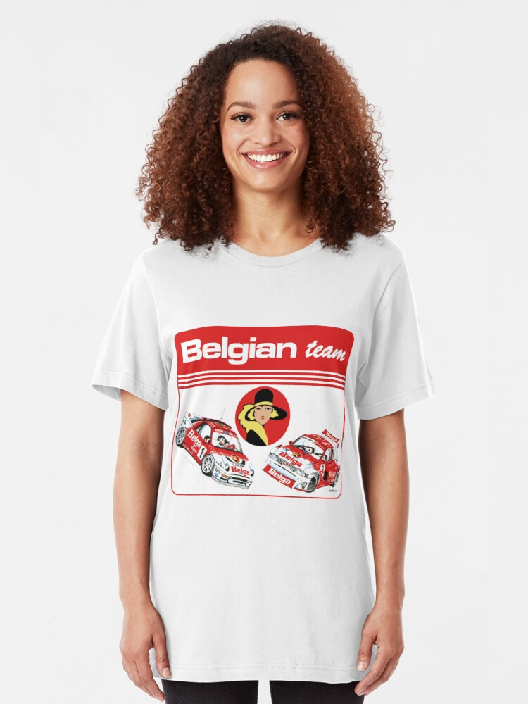 Alternate view of Belgian team 86 Slim Fit T-Shirt