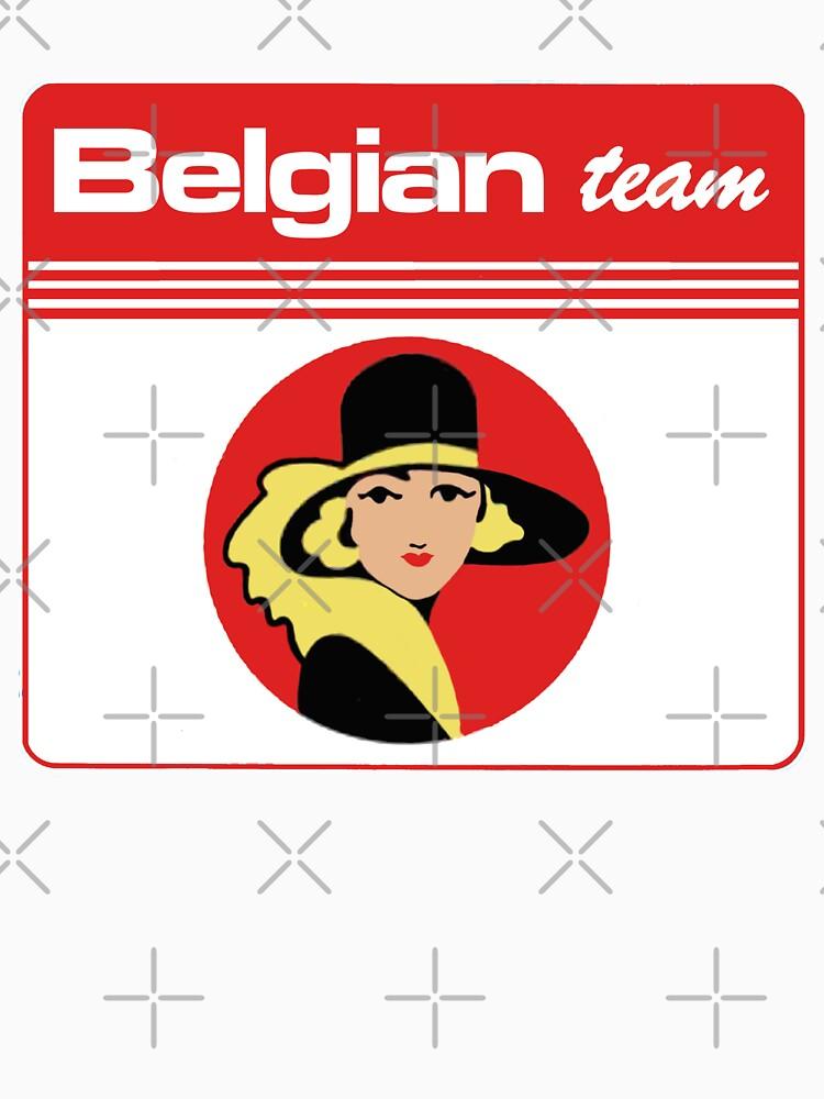 Belgian team  by purpletwinturbo