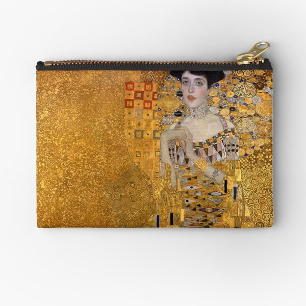 THE LADY IN GOLD - GUSTAV KLIMT  Zipper Pouch