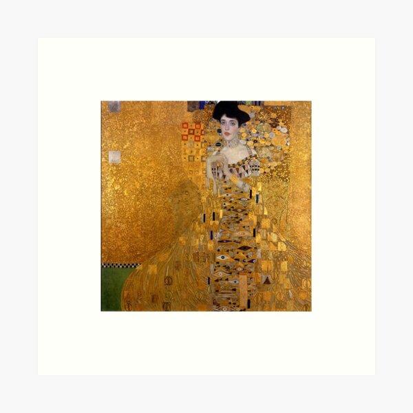 DIE DAME IN GOLD - GUSTAV KLIMT Kunstdruck