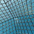 Abstraktes geometrisches Glasdach von beth-cole