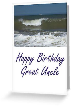 Happy Birthday Great Uncle By SallyMyriad