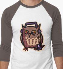 Owly loves music Men's Baseball ¾ T-Shirt
