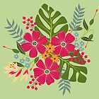 Bunch of Flowers by zephyrra